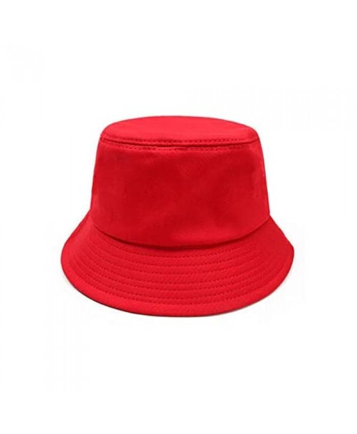 HYANUP Unisex Bucket Sun Hat Floppy Cotton Hats Beach Fisherman's Caps