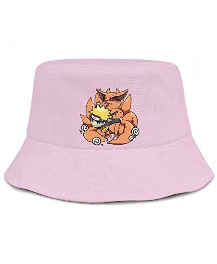 JC07xx Bucket Boonies Reversible Fisherman Hats Naruto Human Force Saiken Summer Caps