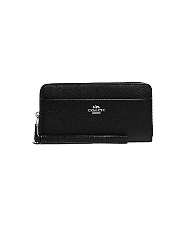 Coach Accordian Zip Phone Wallet Wristlet