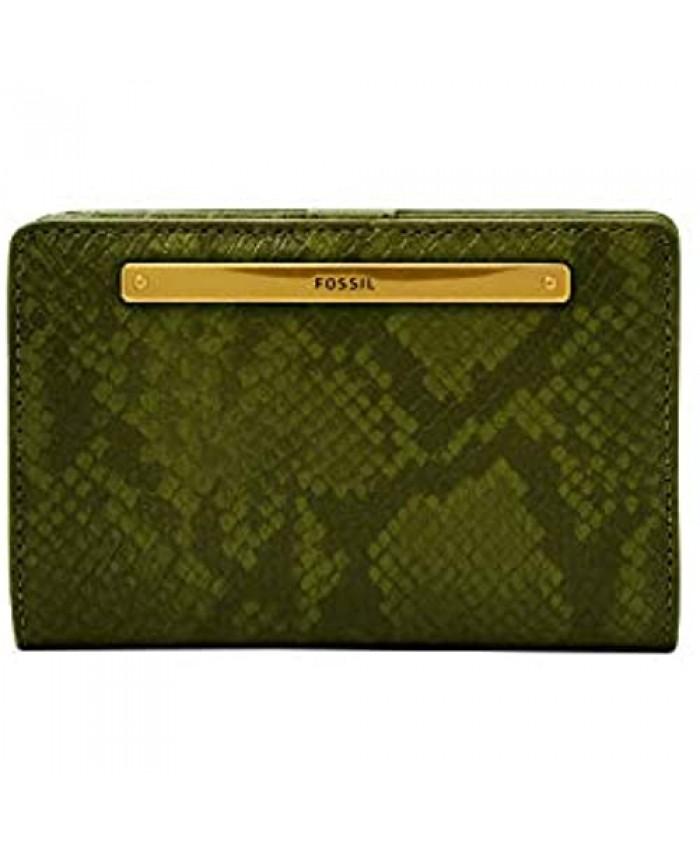 Fossil Women's Liza Leather Multifunction Bifold Wallet