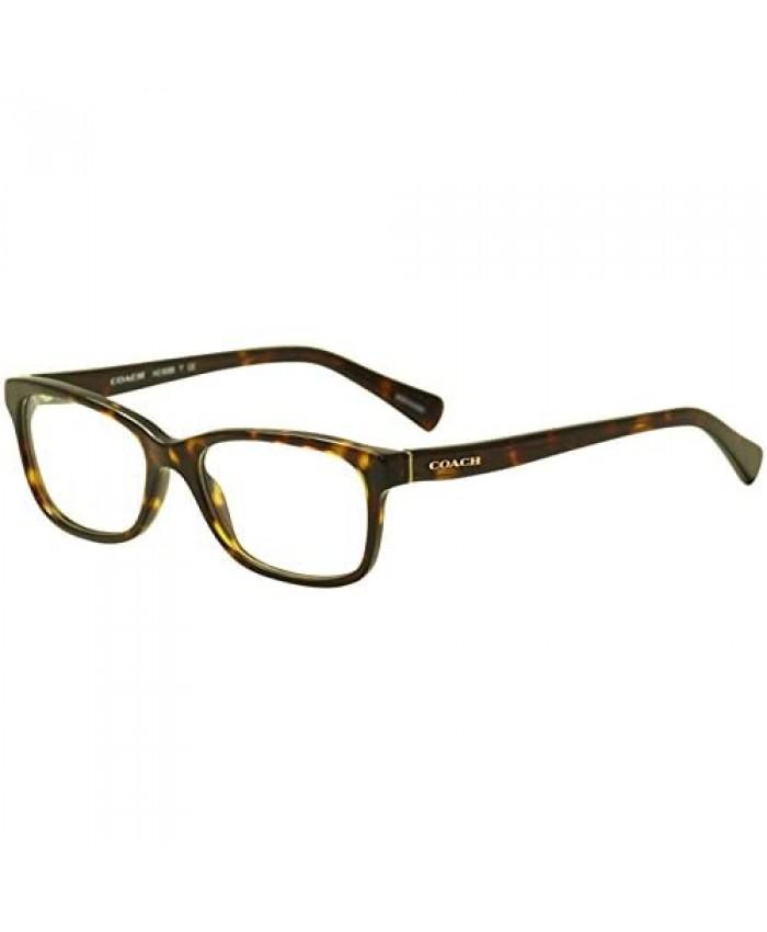 Coach Women's HC6089 Eyeglasses Dark Tortoise 51mm