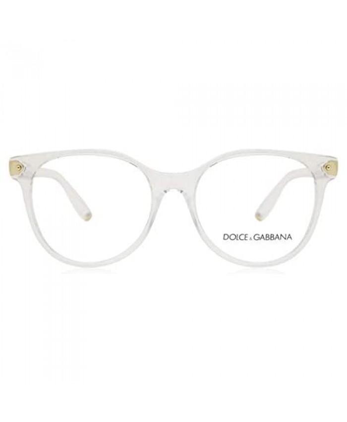 Dolce & Gabbana Eyeglasses D&G DG5032 DG/5032 3133 Crystal Optical Frame 53mm