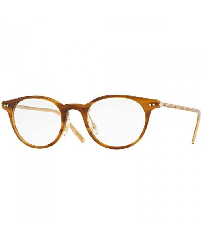 Oliver Peoples Elyo Brown/Clear Lens Eyeglasses