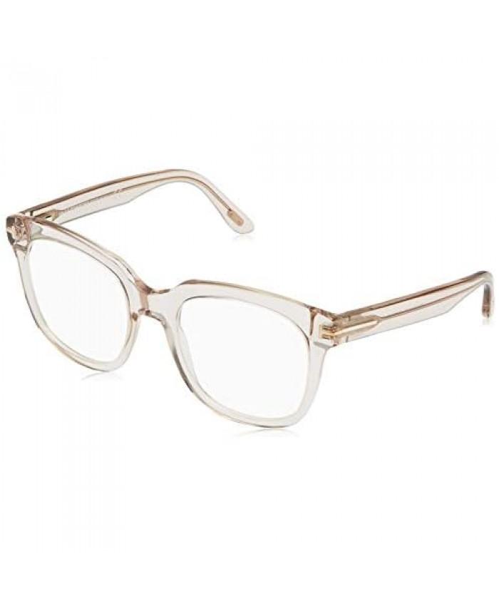 Tom Ford FT 5537-B BLUE BLOCK SHINY PINK 52/20/140 women Eyewear Frame