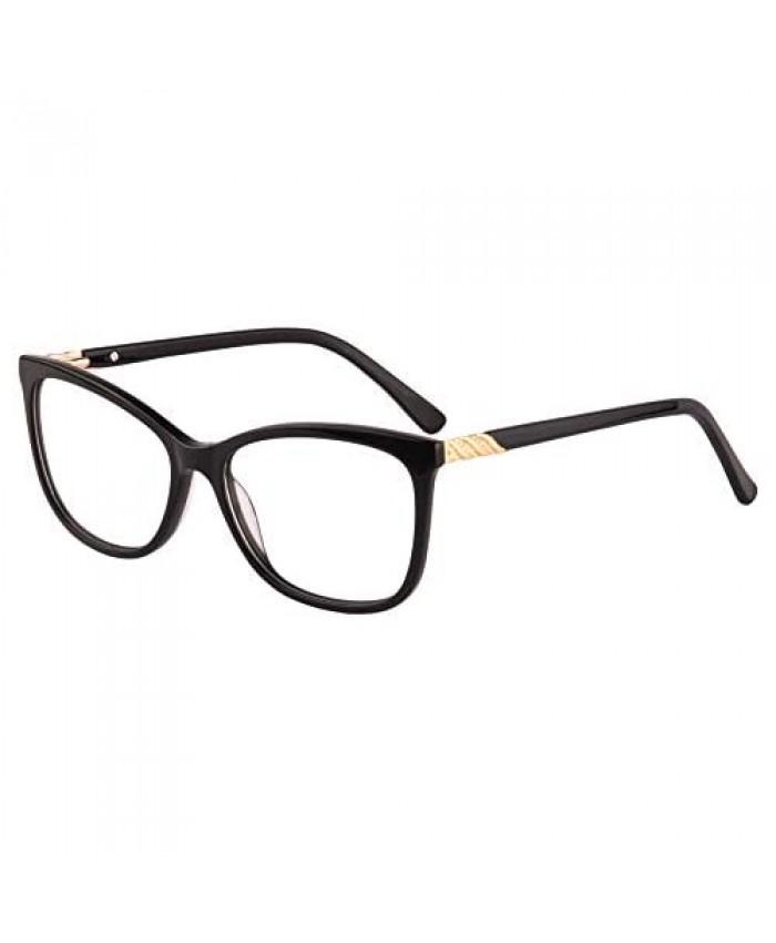 UOOUOO Acetate Cateye Anti-blue Light Computer Progressive Multifocus Reading Glasses-UOORD367