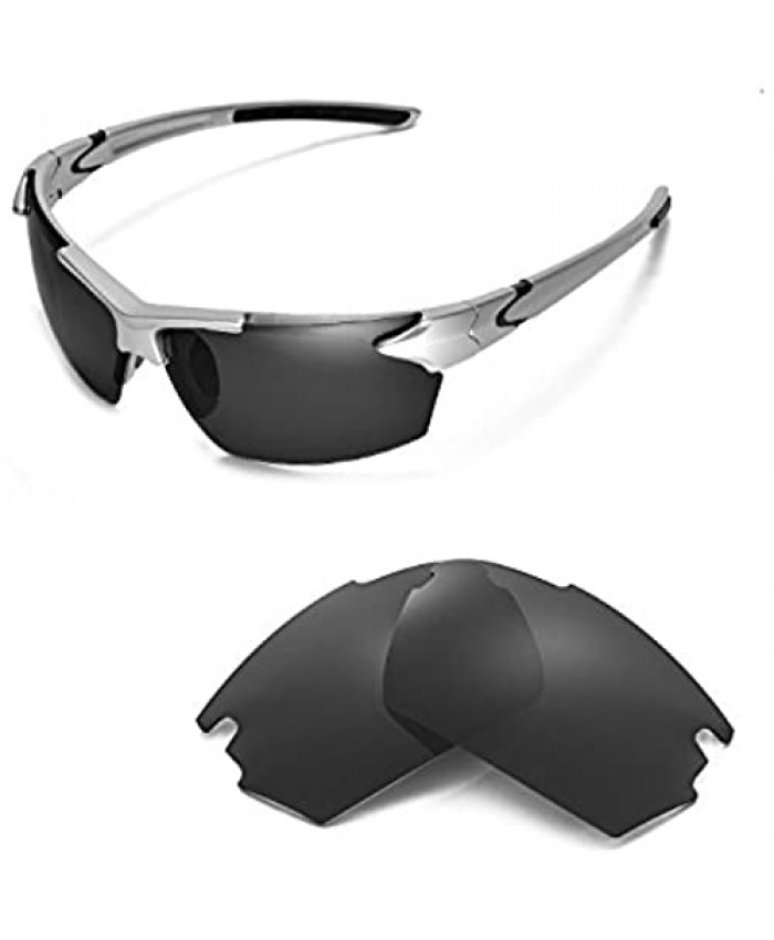 Walleva Replacement Lenses for TIFOSI Jet Sunglasses - Multiple Options Available