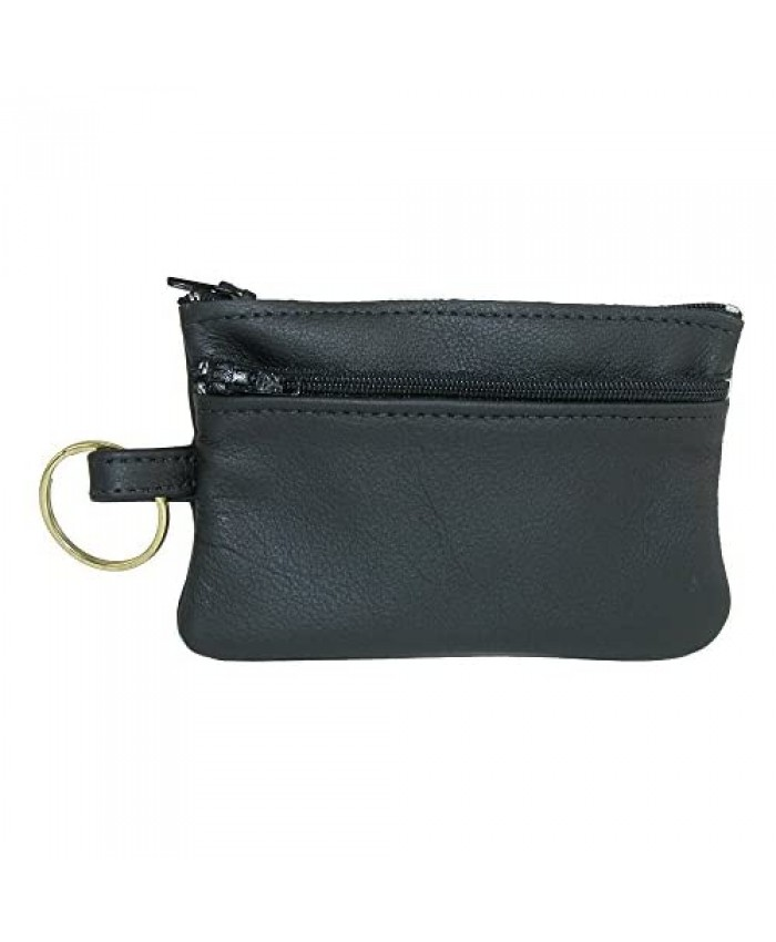 CTM Leather Cards Keys and Coin Holder