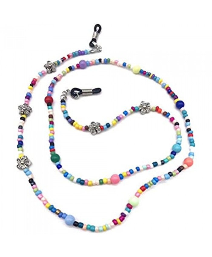 Colorful Beaded Eyeglass Holder for Women (Color 1)