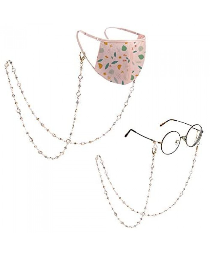 Eyeglass Chains for Women Mask Chain Women LACE INN Mask Chains and Cords for Women Gold Chains to Hold Masks