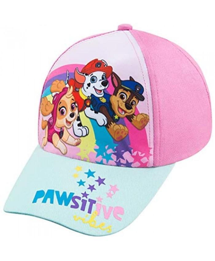 Nickelodeon Toddler Girls Paw Patrol Baseball Cap - Ages 2-4