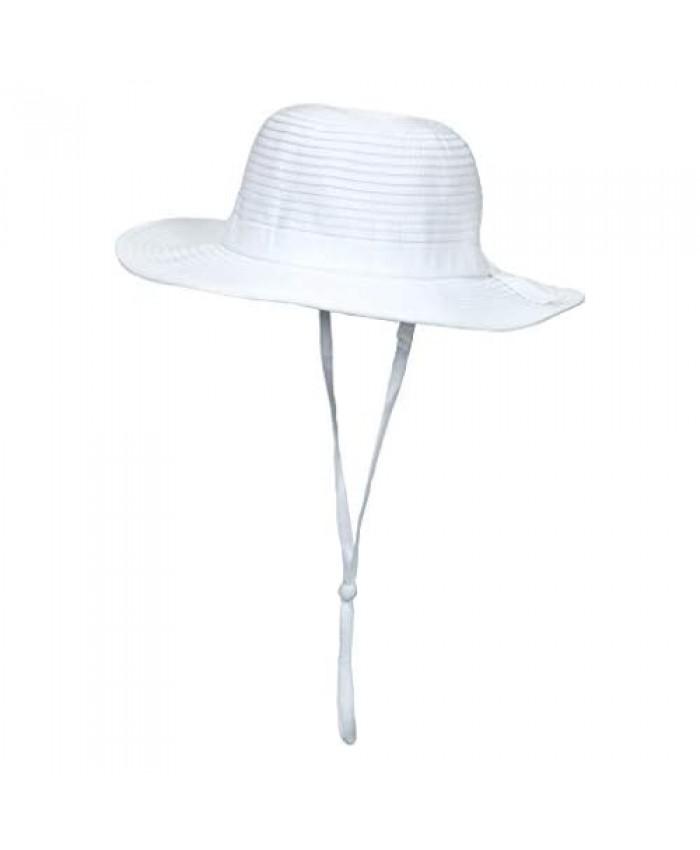 SwimZip Girls' Wide Brim Sun Hat UPF 50+ UV Sun Protection - Multiple Colors