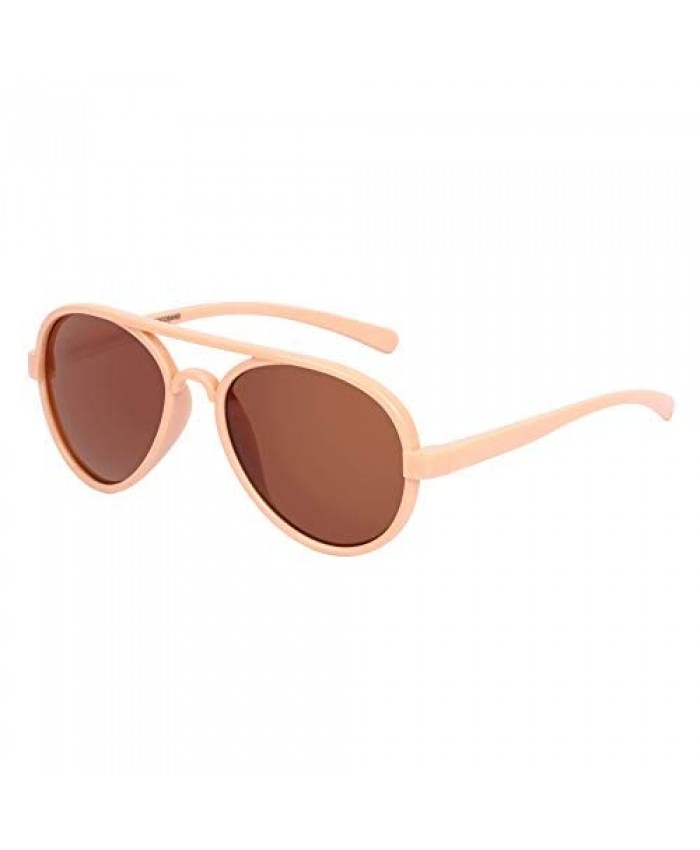 COCOSAND Kids Sunglasses Classic Aviator Style UV400 Protection for Age 4-10