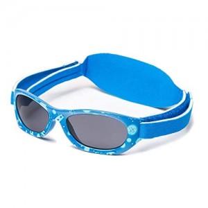 KIDDUS Sunglasses Baby 0-2 years Adjustable Band Unbreakable Safe Filter UV400
