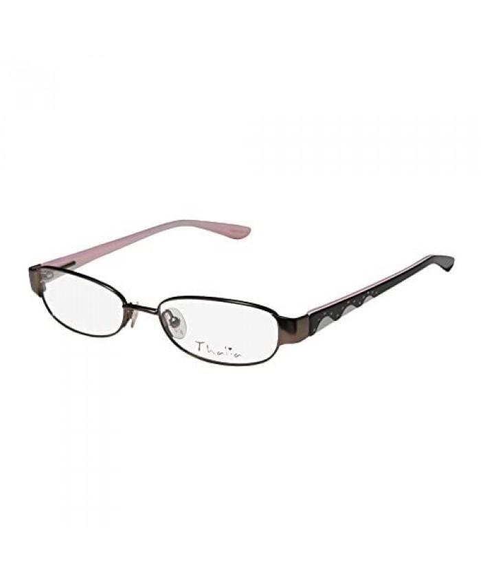 Thalia Coco Childrens/Kids/Girls Rhinestones Flexible Hinges With Eyeglasses/Eyeglass Frame